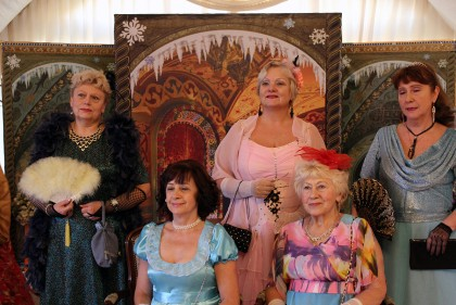 Участники Бала в Коломенском