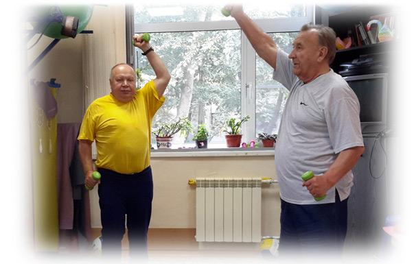 В Центре работает отделение социальной реабилитации инвалидов