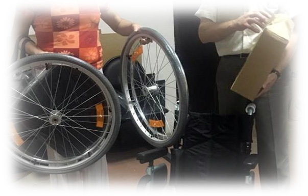 Через Пункт выдачи технических средств реабилитации 2500 инвалидов обеспечиваются средствами реабилитации, а так же обращаются за оформлением компенсации за самостоятельно приобретенные технические средства реабилитации