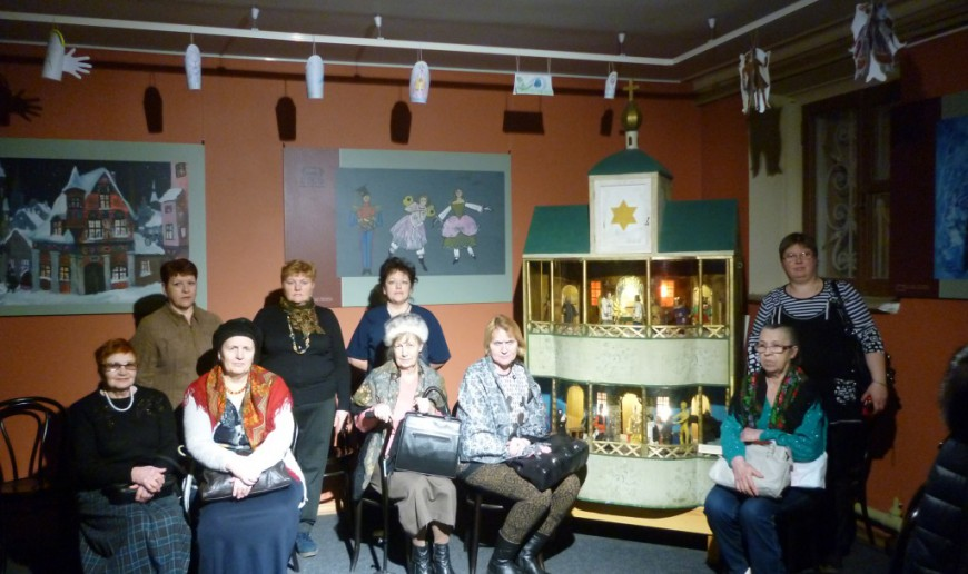 Экскурсия.    Вечер памяти        Л. Дурова в музее  Бахрушина 20.02.16   P1230887