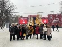 Фото с зимнего праздника в Сокольниках
