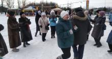 Масленица на Борисовских - танцы