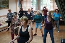 Танцы Московское долголетие