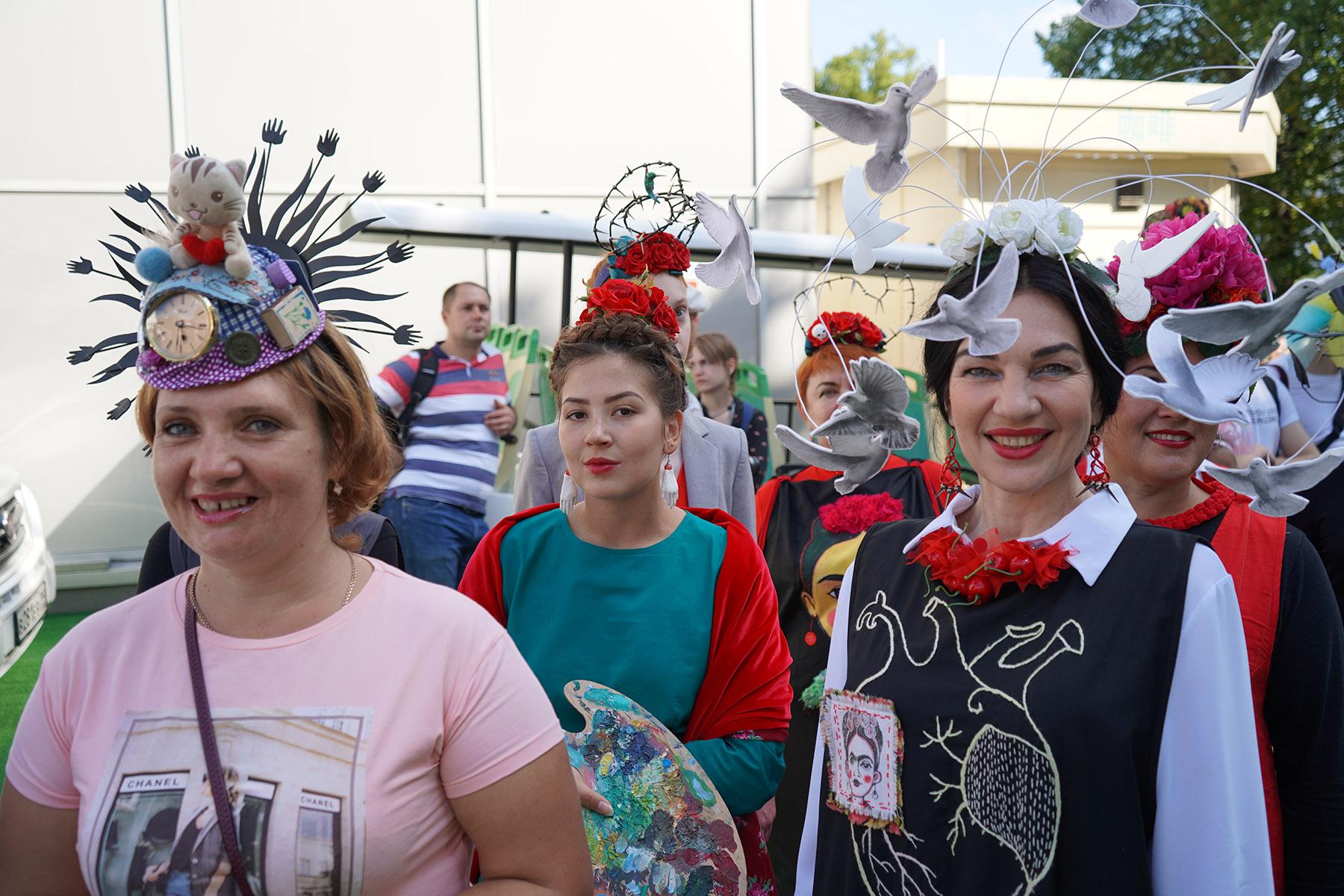 Парад шапо в сокольниках