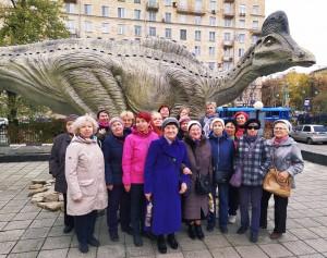 Орехово, Дарвинский музей, динозавры, Московское долголетие