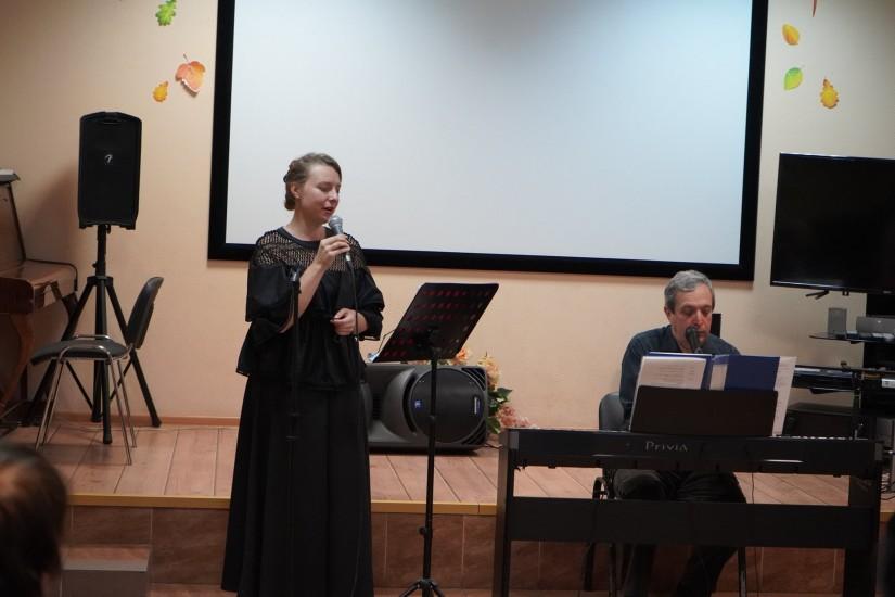 Выступление, песни, стихи, Московское долголетие