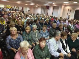Зрители, авации, апплодисменты, Московское долголетие